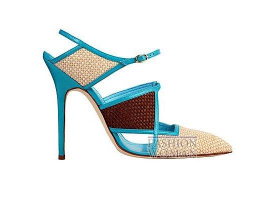Коллекция женской обуви Manolo Blahnik весна-лето 2012 фото №31