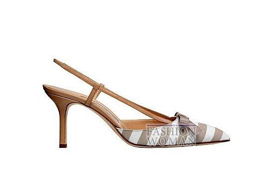 Коллекция женской обуви Manolo Blahnik весна-лето 2012 фото №32