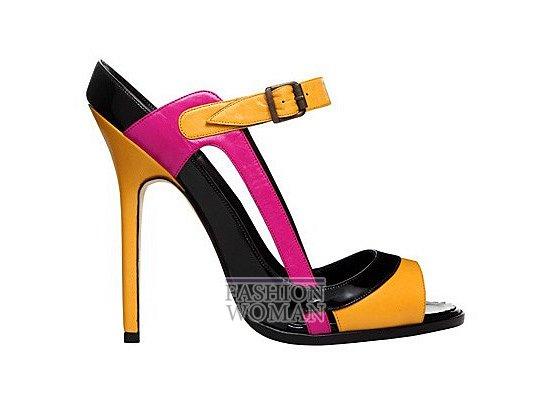 Коллекция женской обуви Manolo Blahnik весна-лето 2012 фото №33