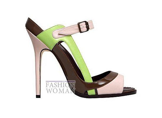 Коллекция женской обуви Manolo Blahnik весна-лето 2012 фото №34