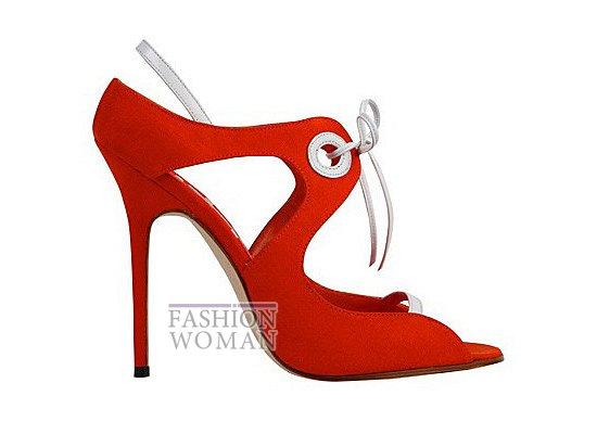 Коллекция женской обуви Manolo Blahnik весна-лето 2012 фото №36