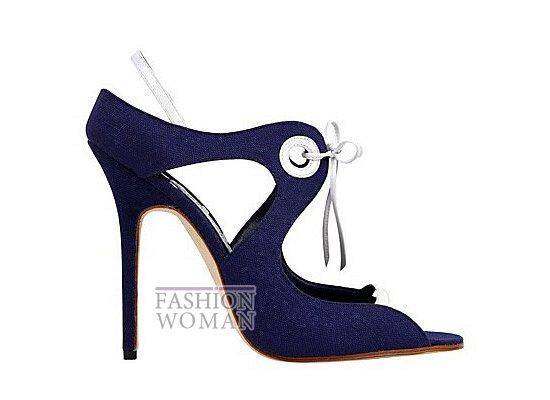Коллекция женской обуви Manolo Blahnik весна-лето 2012 фото №37
