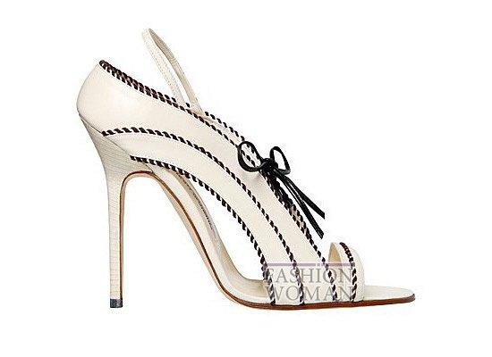 Коллекция женской обуви Manolo Blahnik весна-лето 2012 фото №38