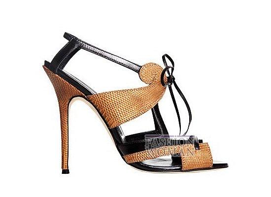 Коллекция женской обуви Manolo Blahnik весна-лето 2012 фото №41