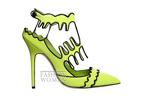 Коллекция женской обуви Manolo Blahnik весна-лето 2012 фото №42