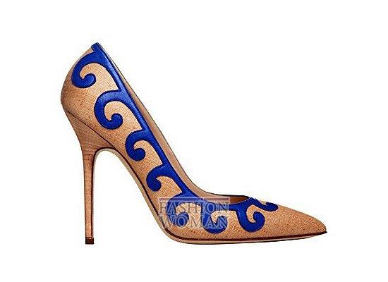 Коллекция женской обуви Manolo Blahnik весна-лето 2012 фото №43