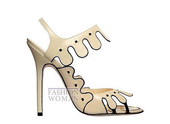 Коллекция женской обуви Manolo Blahnik весна-лето 2012 фото №47