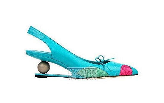Коллекция женской обуви Manolo Blahnik весна-лето 2012 фото №48