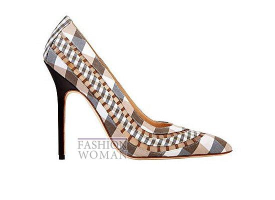 Коллекция женской обуви Manolo Blahnik весна-лето 2012 фото №6