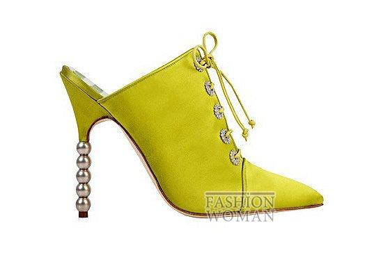 Коллекция женской обуви Manolo Blahnik весна-лето 2012 фото №51