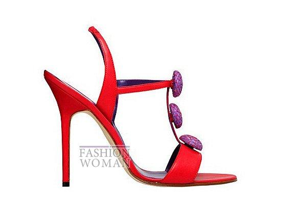 Коллекция женской обуви Manolo Blahnik весна-лето 2012 фото №53