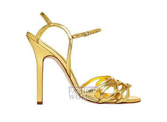 Коллекция женской обуви Manolo Blahnik весна-лето 2012 фото №54