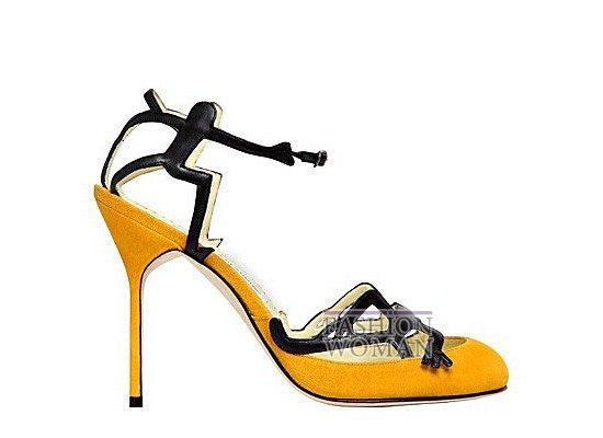 Коллекция женской обуви Manolo Blahnik весна-лето 2012 фото №55