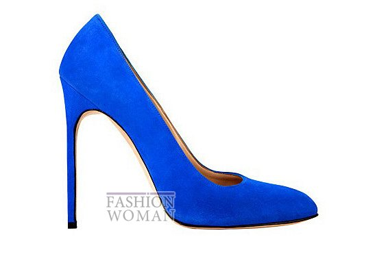 Коллекция женской обуви Manolo Blahnik весна-лето 2012 фото №56