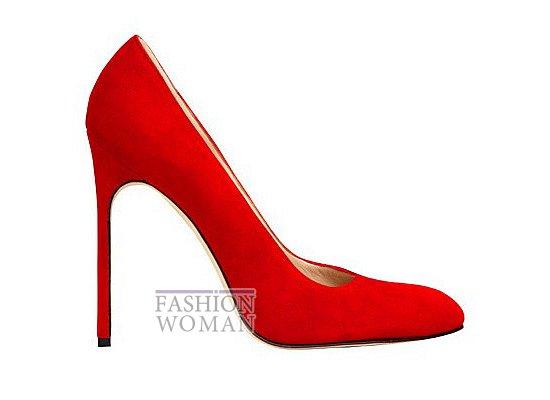 Коллекция женской обуви Manolo Blahnik весна-лето 2012 фото №59