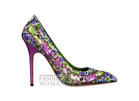Коллекция женской обуви Manolo Blahnik весна-лето 2012 фото №7