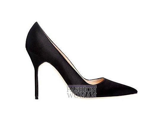Коллекция женской обуви Manolo Blahnik весна-лето 2012 фото №61