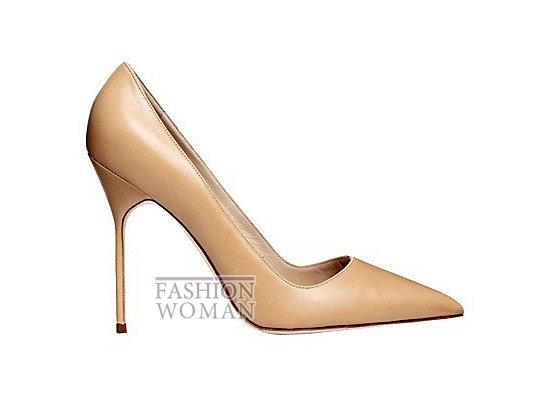 Коллекция женской обуви Manolo Blahnik весна-лето 2012 фото №62