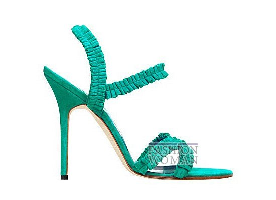 Коллекция женской обуви Manolo Blahnik весна-лето 2012 фото №63