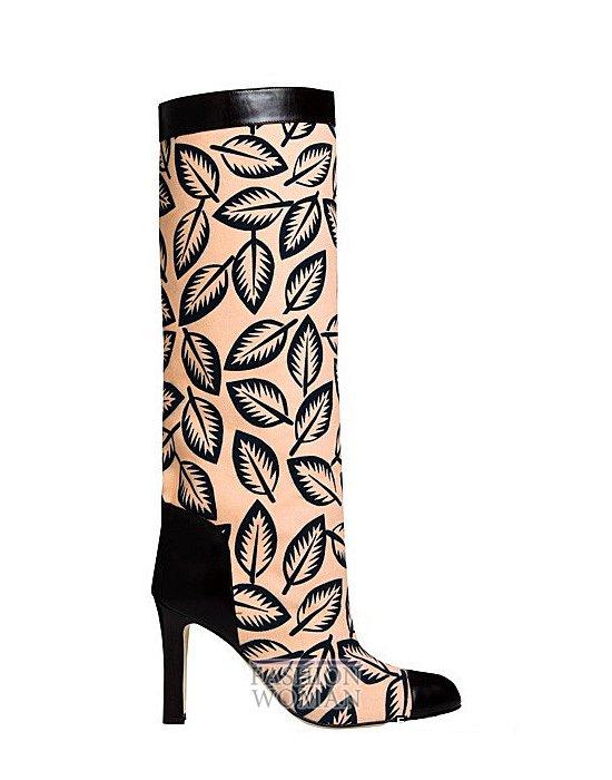 Коллекция женской обуви Manolo Blahnik весна-лето 2012 фото №64