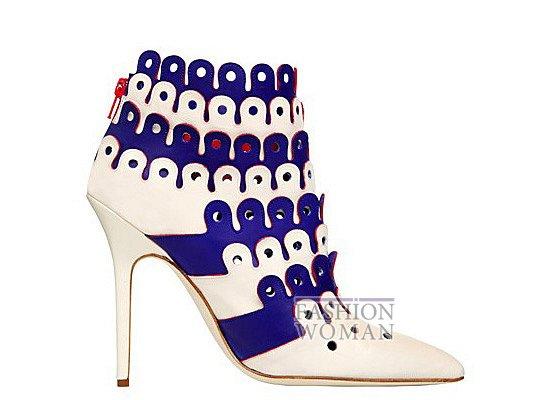 Коллекция женской обуви Manolo Blahnik весна-лето 2012 фото №65