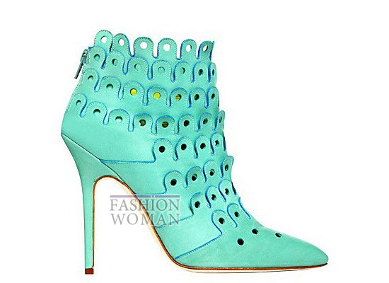 Коллекция женской обуви Manolo Blahnik весна-лето 2012 фото №66