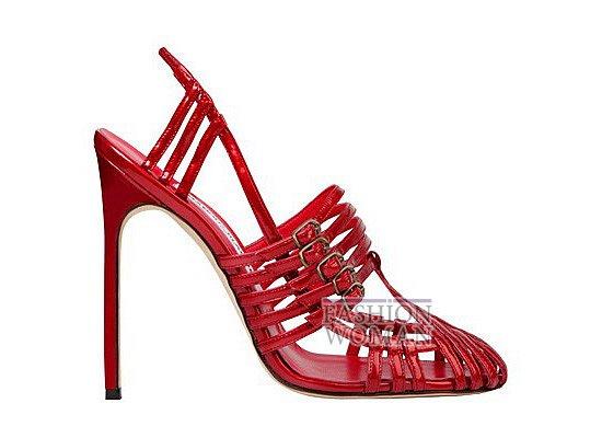 Коллекция женской обуви Manolo Blahnik весна-лето 2012 фото №67