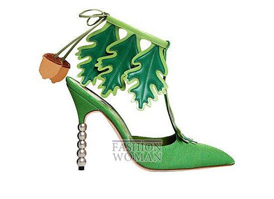 Коллекция женской обуви Manolo Blahnik весна-лето 2012 фото №69