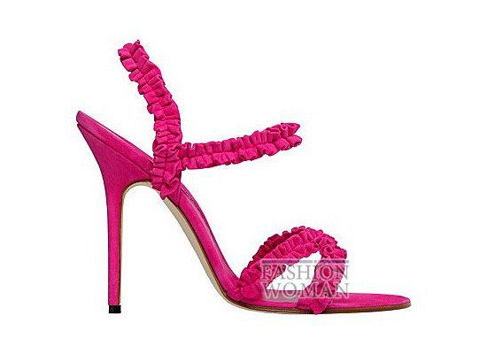 Коллекция женской обуви Manolo Blahnik весна-лето 2012 фото №70