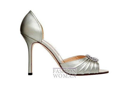 Коллекция женской обуви Manolo Blahnik весна-лето 2012 фото №8