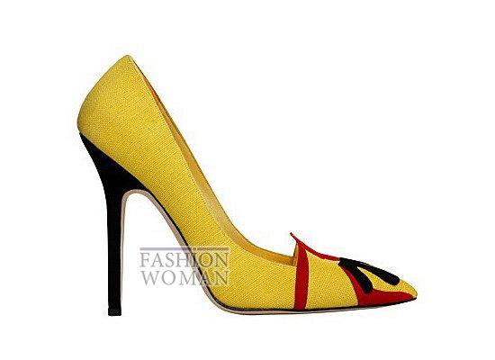 Коллекция женской обуви Manolo Blahnik весна-лето 2012 фото №71