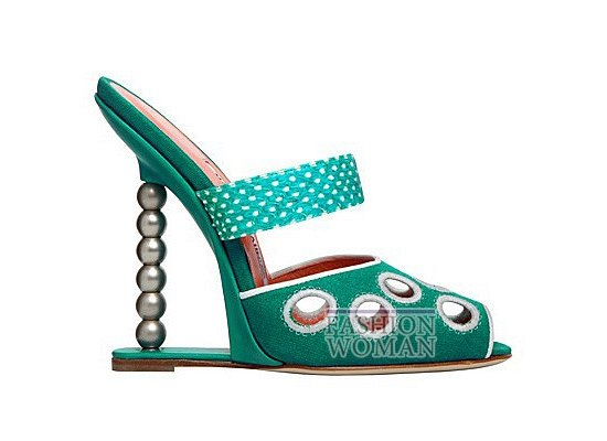 Коллекция женской обуви Manolo Blahnik весна-лето 2012 фото №72
