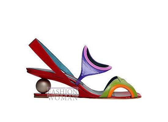Коллекция женской обуви Manolo Blahnik весна-лето 2012 фото №73
