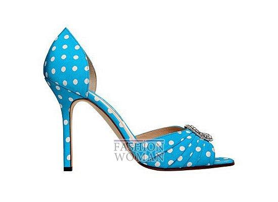 Коллекция женской обуви Manolo Blahnik весна-лето 2012 фото №10
