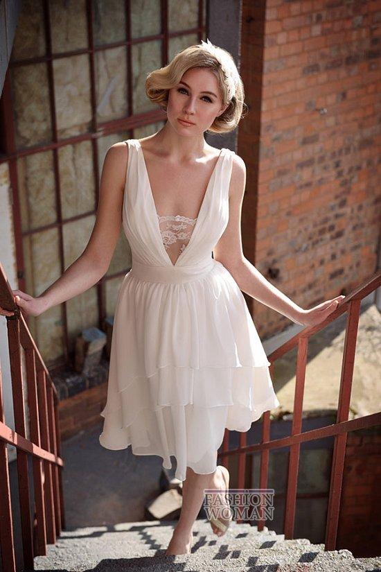 Короткие свадебные платья от Tobi Hannah
