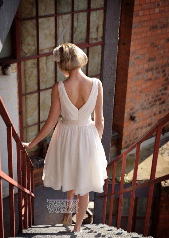 Короткие свадебные платья от Tobi Hannah фото №2