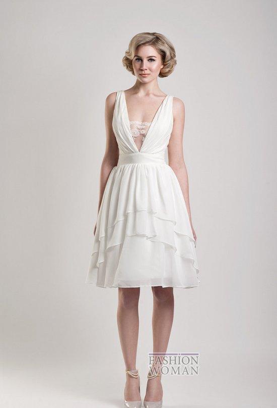 Короткие свадебные платья от Tobi Hannah фото №11