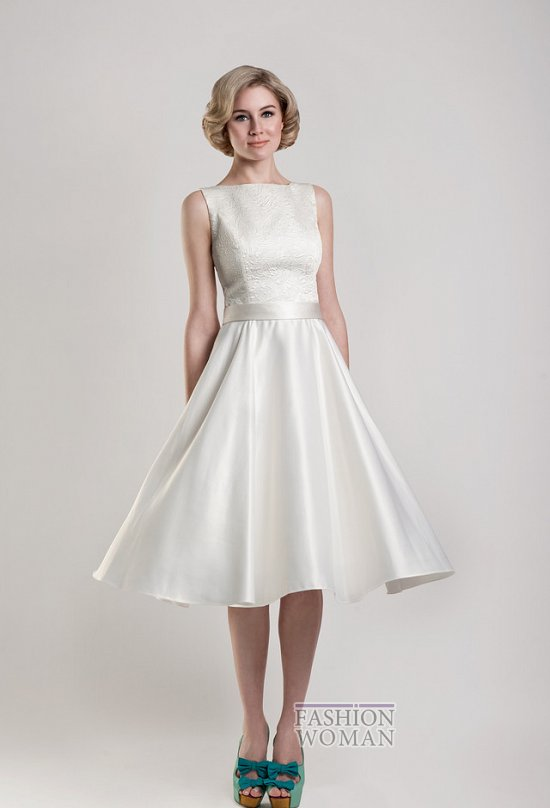 Короткие свадебные платья от Tobi Hannah фото №12