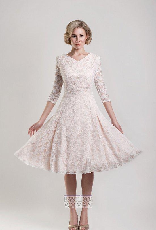 Короткие свадебные платья от Tobi Hannah фото №13