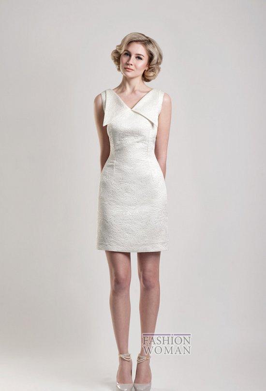 Короткие свадебные платья от Tobi Hannah фото №14