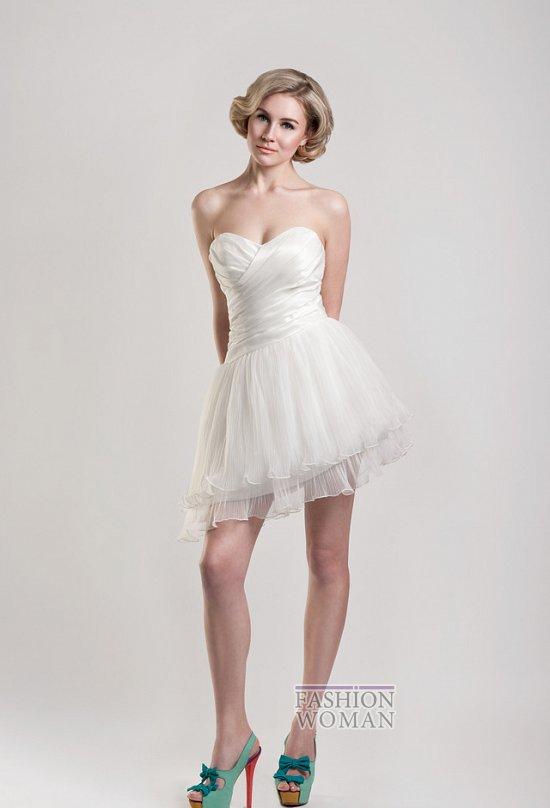 Короткие свадебные платья от Tobi Hannah фото №15