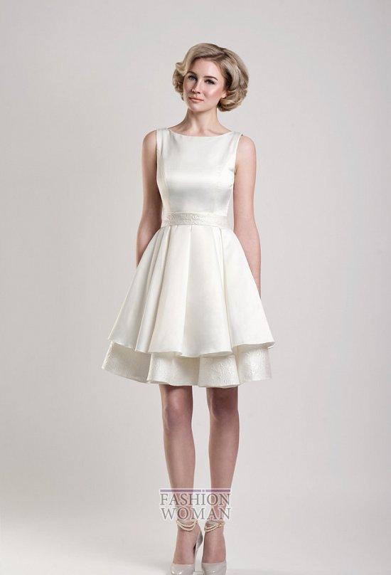 свадебное платье в ретро-стиле