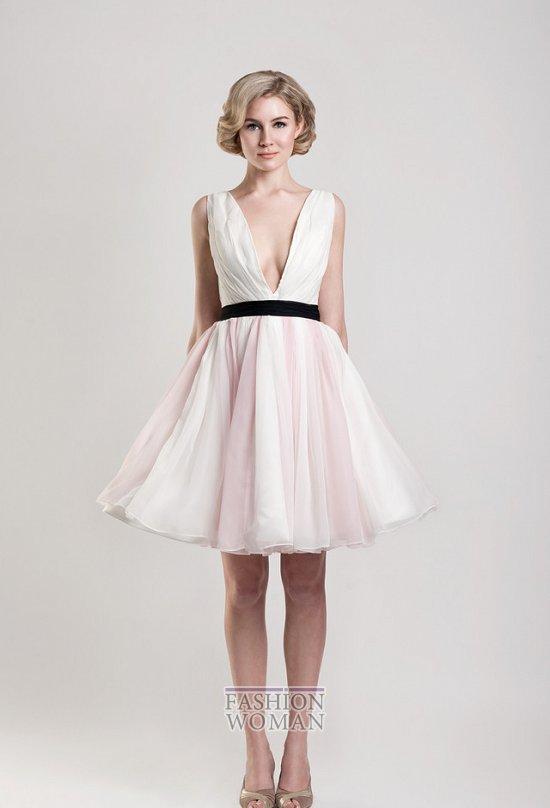Короткие свадебные платья от Tobi Hannah фото №17