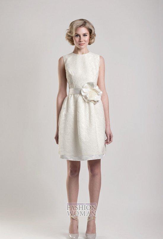 Короткие свадебные платья от Tobi Hannah фото №18
