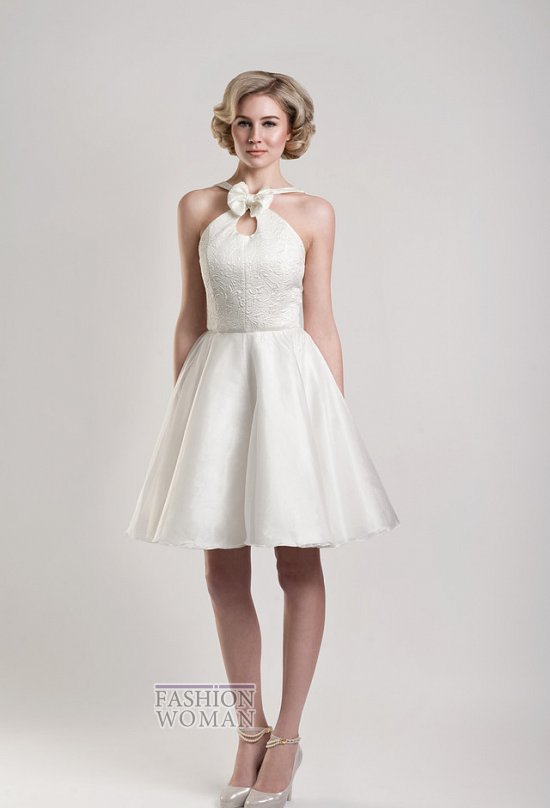 Короткие свадебные платья от Tobi Hannah фото №19