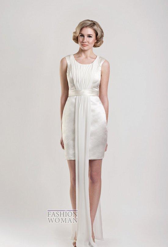 Короткие свадебные платья от Tobi Hannah фото №20