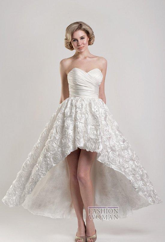 Короткие свадебные платья от Tobi Hannah фото №22