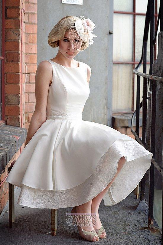 Короткие свадебные платья от Tobi Hannah фото №5