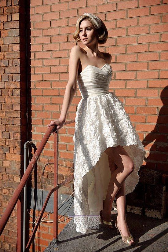 Короткие свадебные платья от Tobi Hannah фото №7
