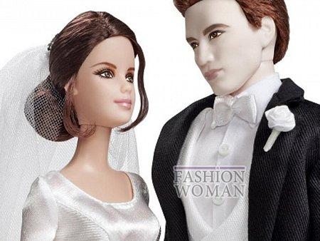 Кристен Стюарт и Роберт Паттинсон стали куклами